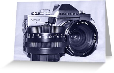 Retro SLR Film Camera by tomkav