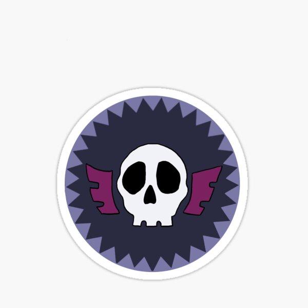 Symbole du crâne Feitan Sticker