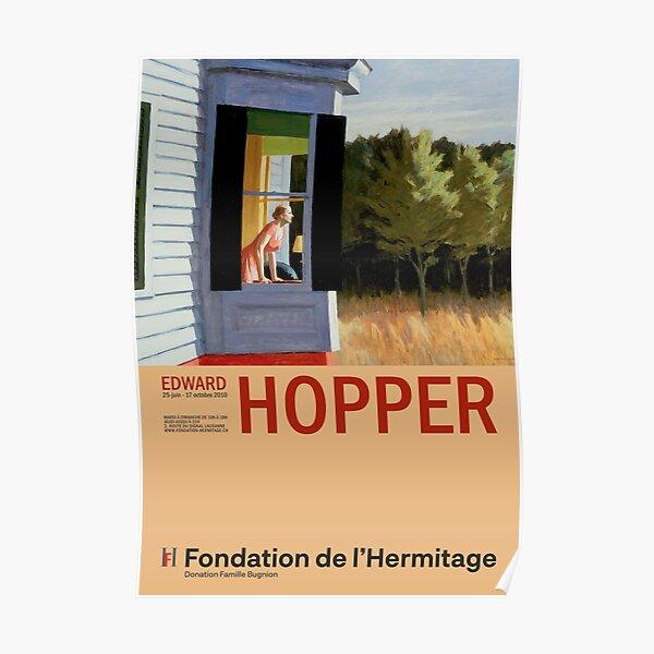Edward Hopper - Cape Cod Morning - Minimalist Exhibition Art Poster Poster