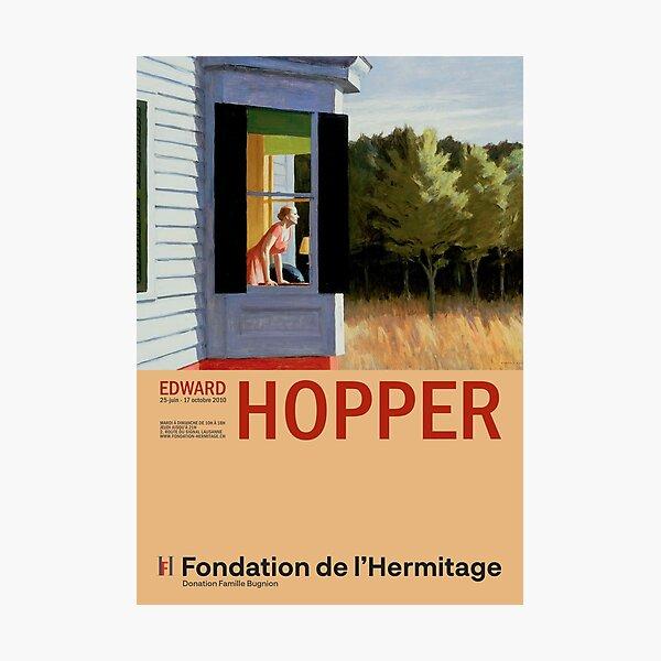 Edward Hopper - Cape Cod Morning - Minimalist Exhibition Art Poster Photographic Print