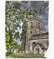 St Mary's Church Reigate Poster