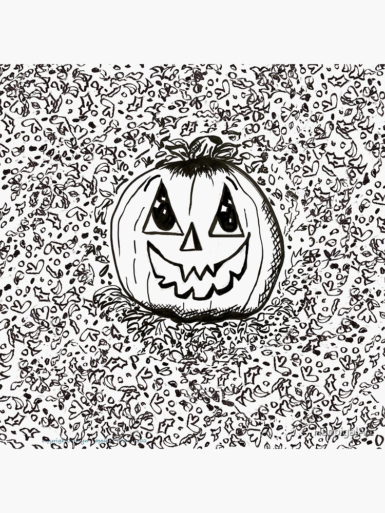 Happy Pumpkin by HappigalArt