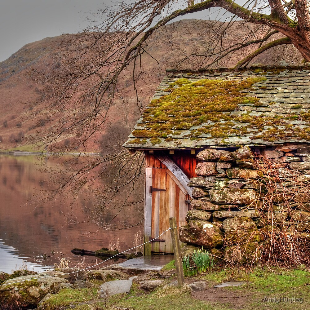 Boathouse in Lake District by AndyHuntley