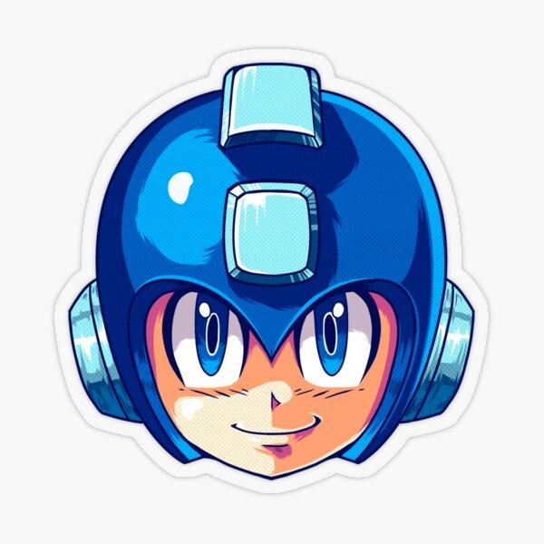 Mega-man Transparent Sticker