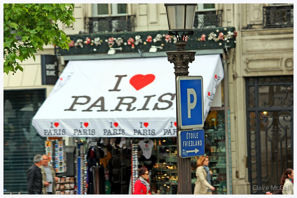 I Love Paris by Claire McCall
