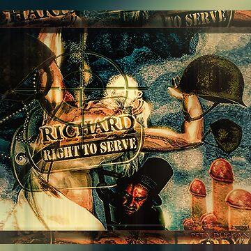 Right To Serve Military Logic by godisnowhere666