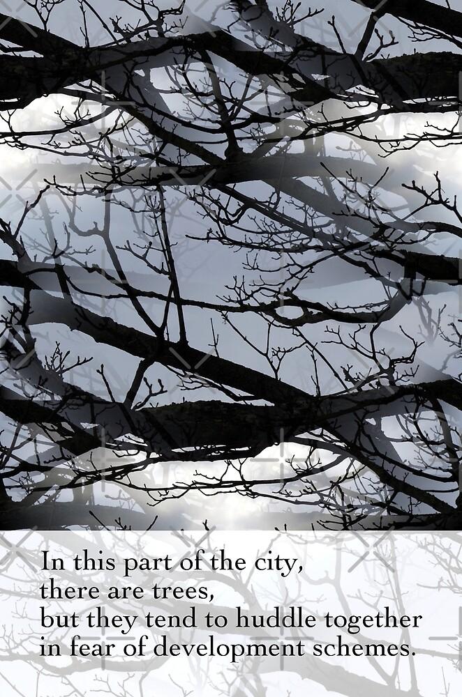 City Trees 1 by Artisimo