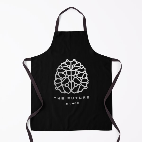 The Future Is Code Apron
