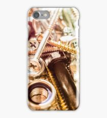 Construction worker hardware phone iPhone Case/Skin