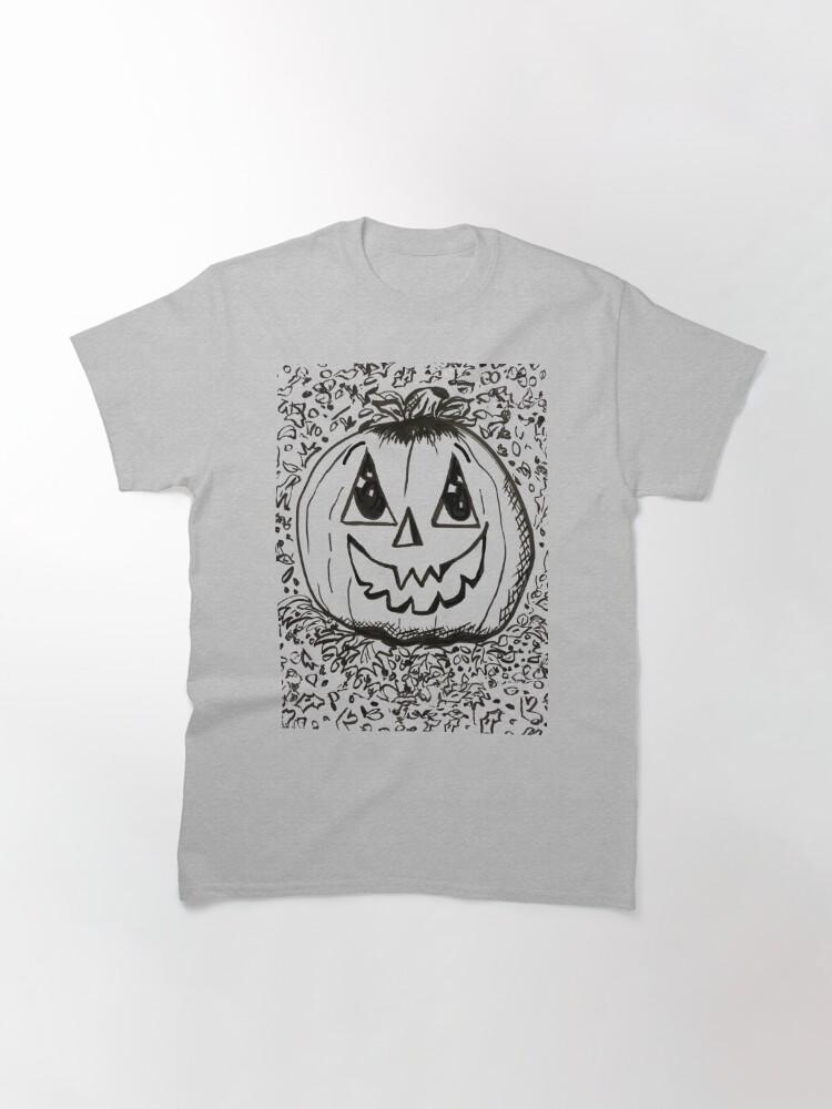Alternate view of Happy Pumpkin Classic T-Shirt