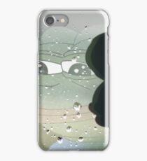 Pepe The Sad Frog Rainy Reflection iPhone Case/Skin