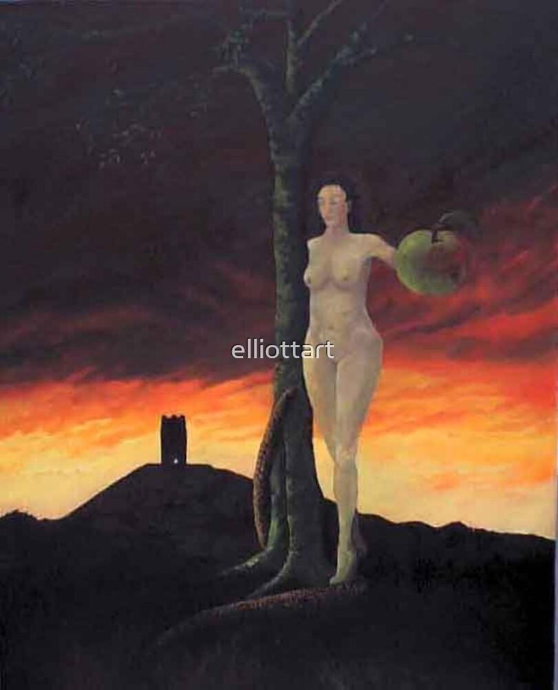 The Goddess of Avalon/ Blood of Eden by elliottart