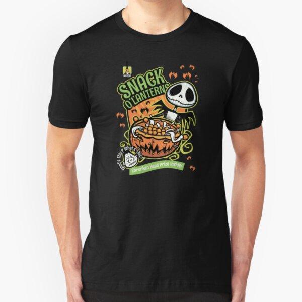 Snack O'Lanterns! Slim Fit T-Shirt