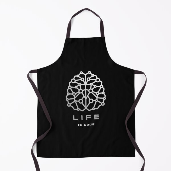 Life Is Code Apron