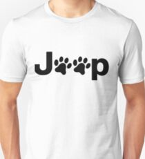 Jeep Paws Unisex T-Shirt