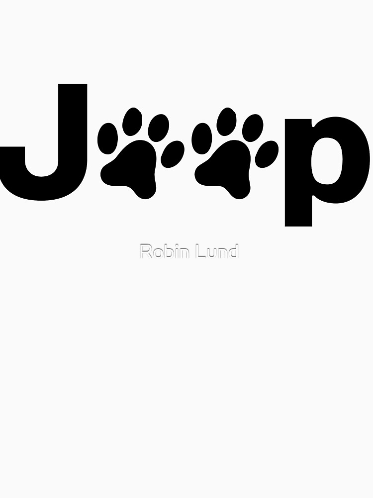 TShirtGifter presents: Jeep Paws | Unisex T-Shirt