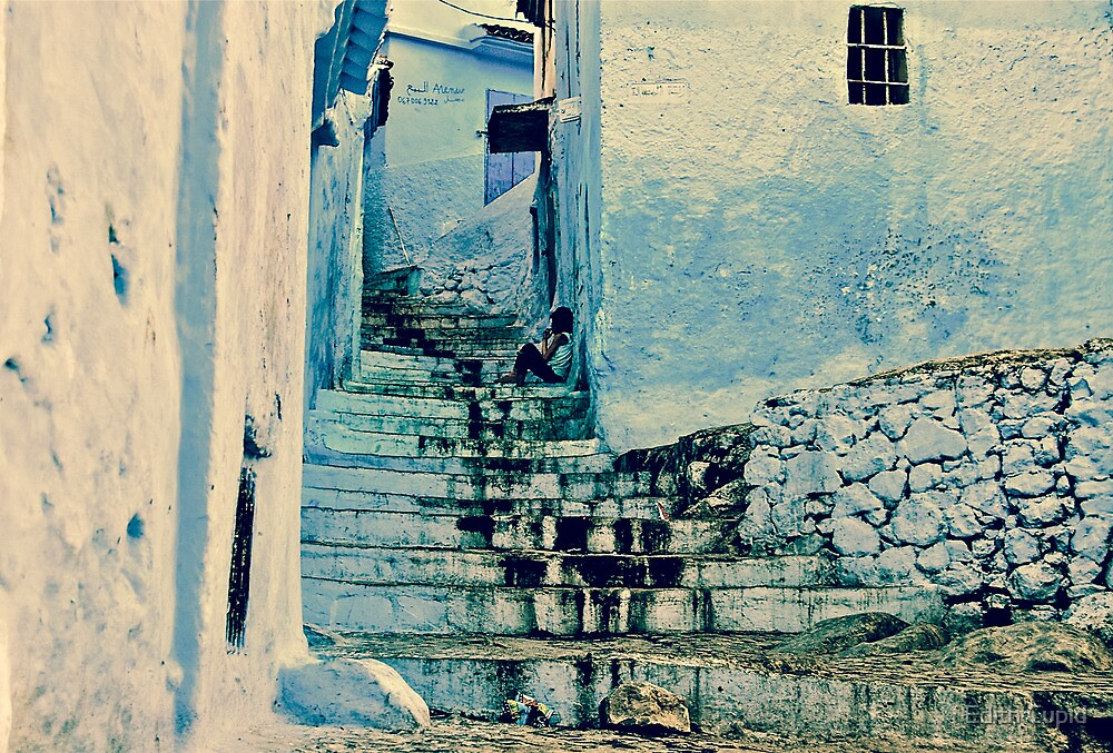 I FEEL ALONE ON THE STAIRS!!! Morocco by Beatrice Cupido