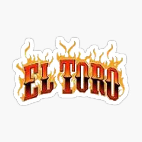 El Toro Six Flags Great Adventure Sticker