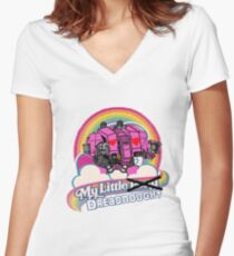My Little Dreadnought Women's Fitted V-Neck T-Shirt