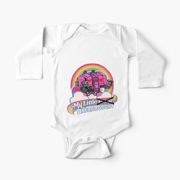 My Little Dreadnought Long Sleeve Baby One-Piece