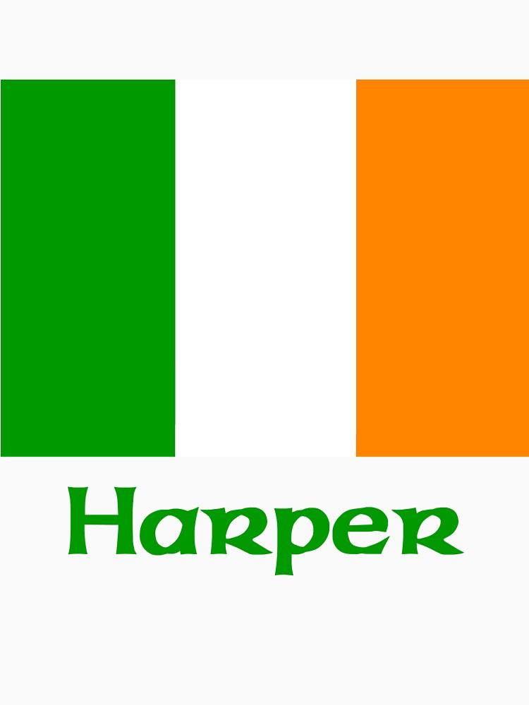 Harper Irish Flag by IrishArms