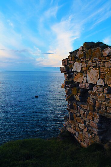 Findlater castle by Jessica Christie