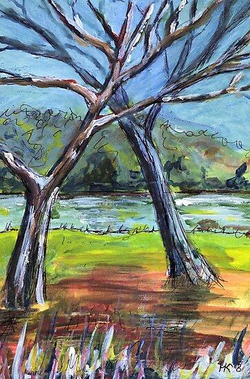 Sketching Trees by Martin Kirkwood