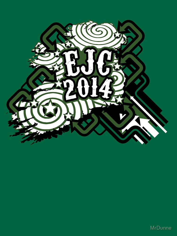 EJC 2014 promo shirt (sticker version) by MrDunne