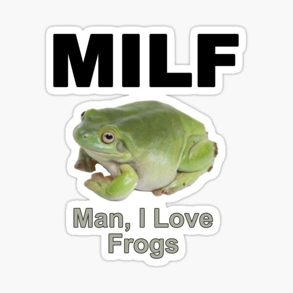 MILF Frog Sticker