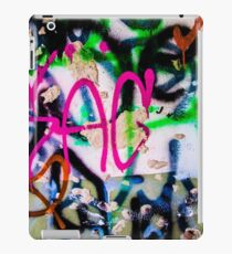 Simple graffiti iPad Case/Skin
