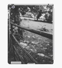 Black & White countryside iPad Case/Skin