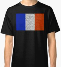 distressed french flag Classic T-Shirt