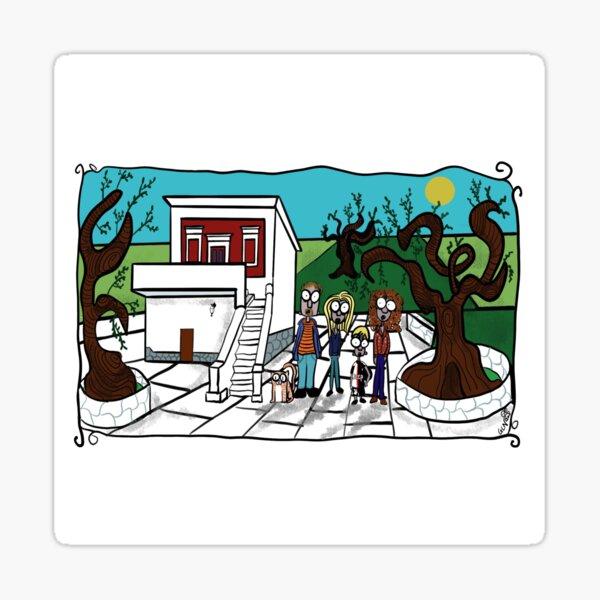 Antica Villa in Pietra Sticker