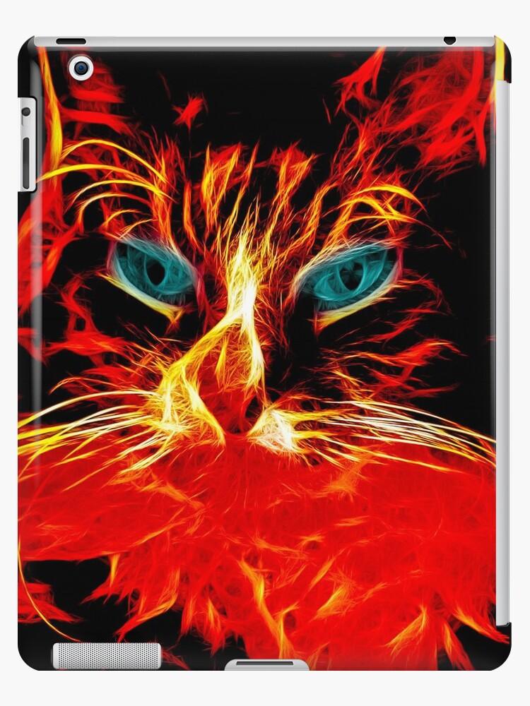 Fire Kitty by nathanescott