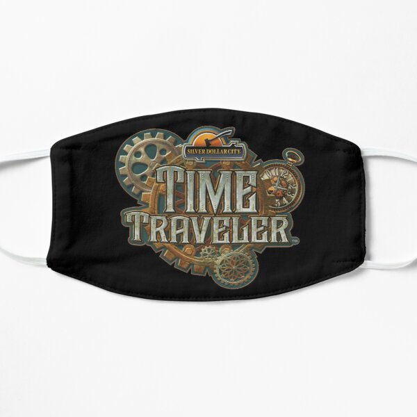 Time Traveler Silver Dollar City Mask