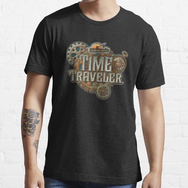 Time Traveler Silver Dollar City Essential T-Shirt