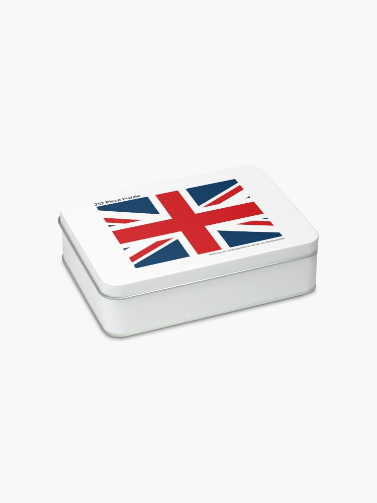 Alternate view of NDVH Union Jack Jigsaw Puzzle