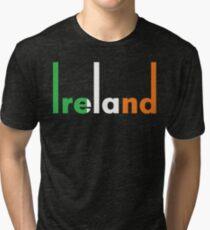 Ireland pop art Tri-blend T-Shirt