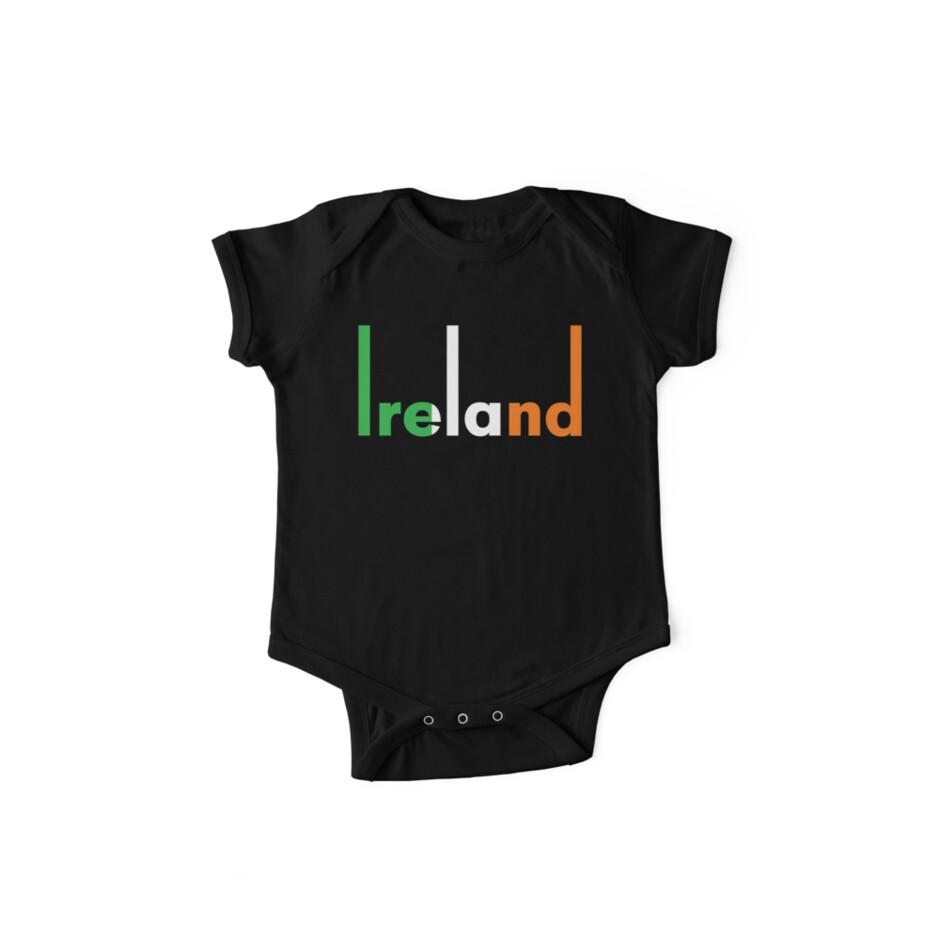 Ireland pop art by RocketmanTees