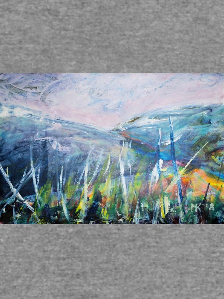 Imaginary landscape sketch. by mkirkwood