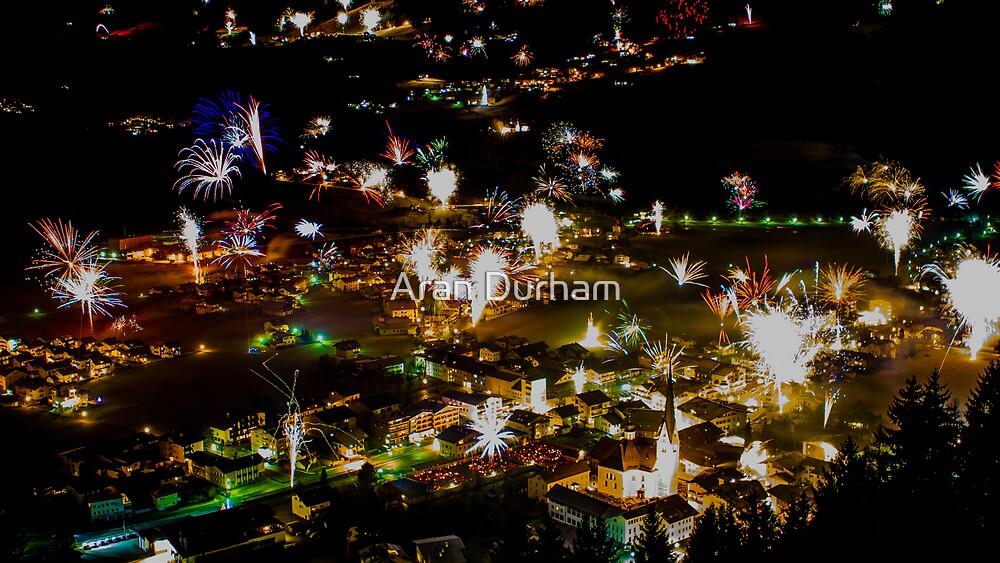 Zell am Ziller, New Year 2014 by Aran Durham