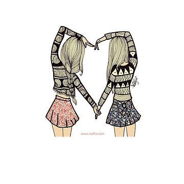 Best Friends Heart  by edenbassforever