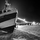 Filey Boats - By Night by lendale
