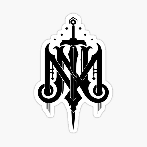 Mighty Nein Logo Sticker