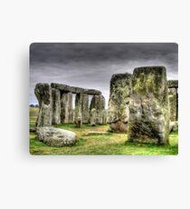 Stonehenge England Canvas Print