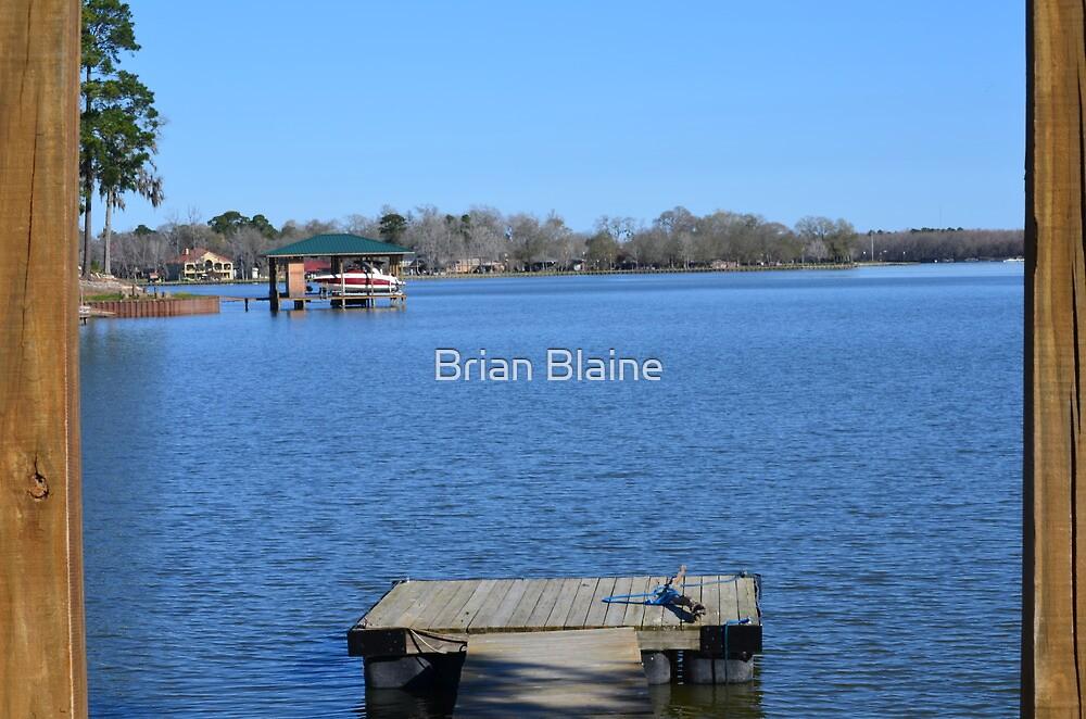 Dock by Brian Blaine