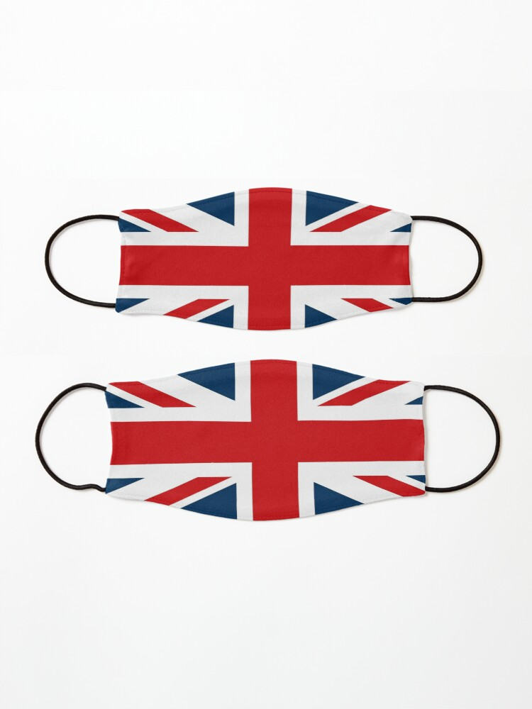 Alternate view of NDVH Union Jack Mask