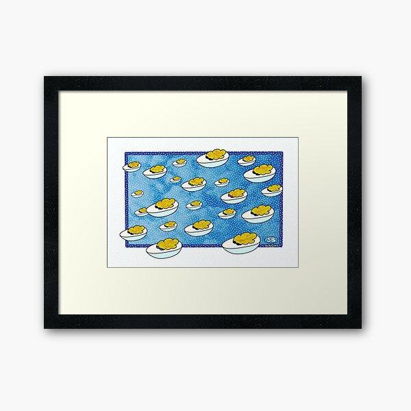 Parade of Devilled Eggs Framed Art Print