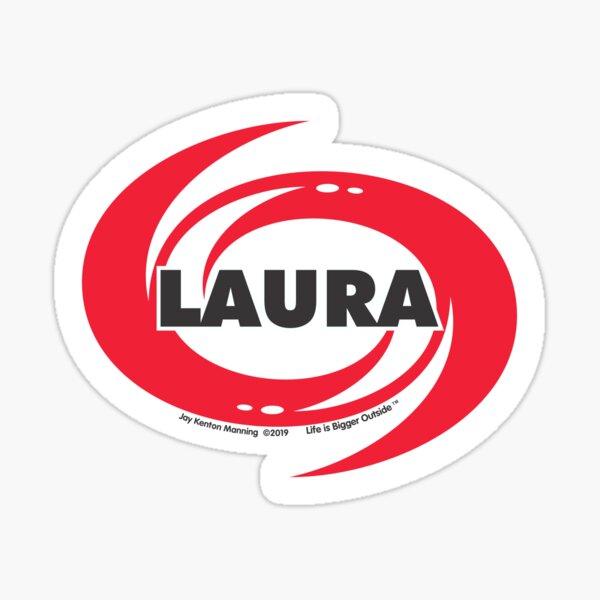 Laura Hurricane Sticker- Weatherproof! Sticker