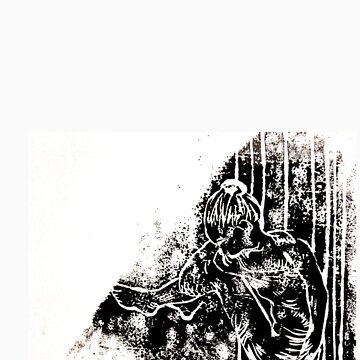 A Woman Print by Ekonox